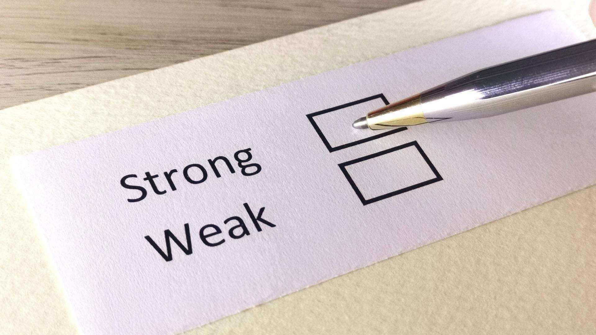 Strong vs Weak Plots How To Make a Weak Plot Stronger